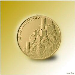 Zlatá mince Svatováclavský 2 Dukát
